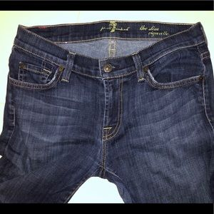 7 for all mankind Jeans Slim Cigarette, size 28